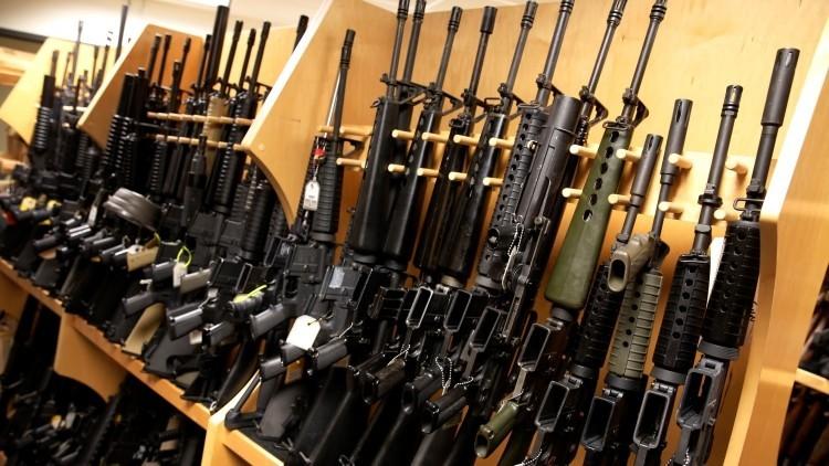 Rifle de asalto AR-15, el arma más 'civil' de EE.UU.