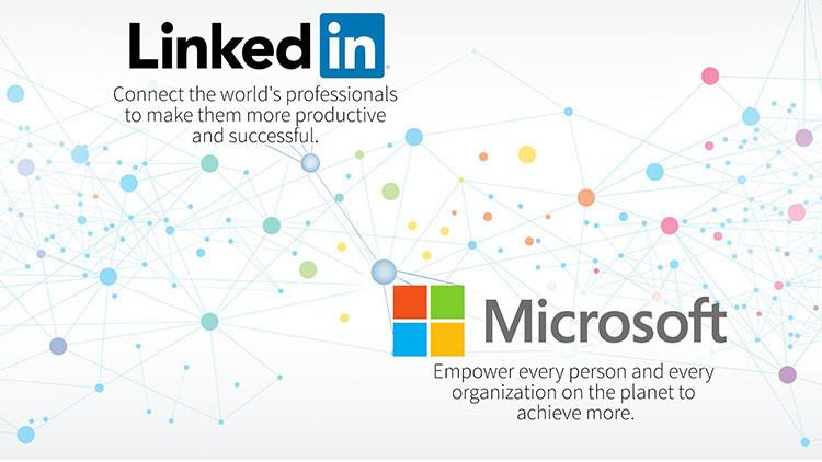 Microsoft adquiere la red social LinkedIn por 26.200 millones de dólares