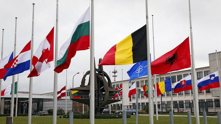 La sede de la OTAN en Bruselas, Bélgica, el 23 de marzo de 2016