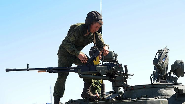 Putin ordena una inspección por sorpresa en las Fuerzas Armadas de Rusia