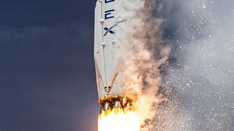 SpaceX fracasa en el aterrizaje del cohete Falcon 9