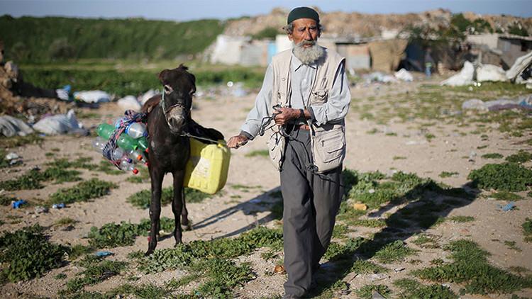 Israel corta el suministro de agua a miles de palestinos