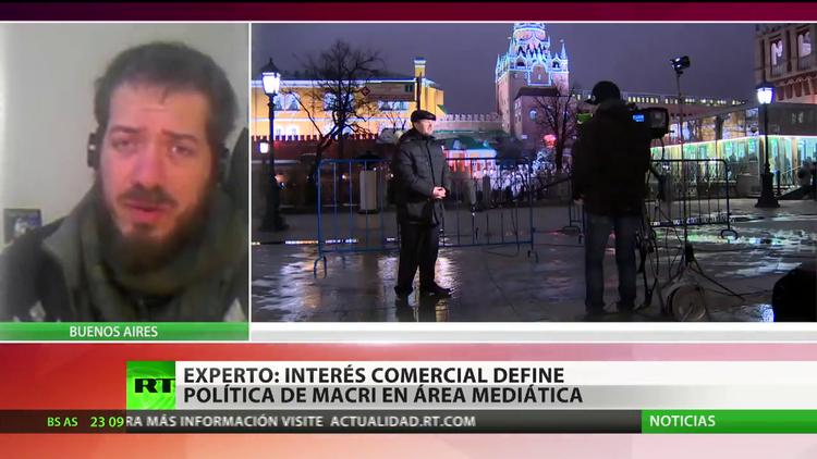 """""""El interés comercial define la política de Macri en el área mediática"""""""