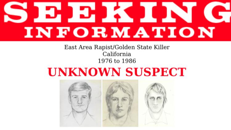 El FBI, tras la pista de un 'viejo' asesino y violador que cometió sus crímenes hace 30 años
