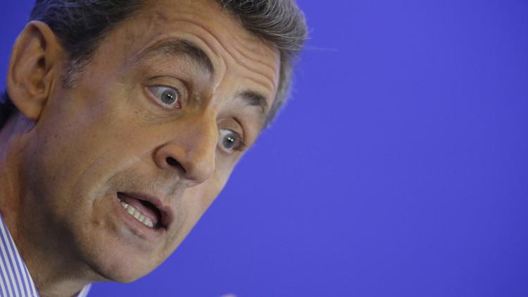 """Sarkozy: """"Hay que levantar las sanciones a Rusia, ya sin ellas tenemos muchos problemas"""""""