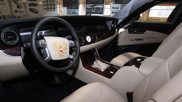 El interior del coche 'Kortezh'
