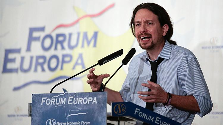 "Pablo Iglesias, por Whatsapp: ""Gibraltar español"""