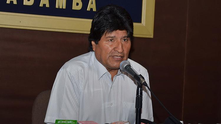 """Evo Morales: """"La OEA ha derrotado los intereses intervencionistas de EE.UU. contra Venezuela"""""""