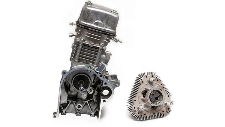Pequeño, pero poderoso: Un motor que funciona sin líquido ni pistones (Video)