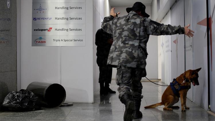 Ejercicios en el Aeropuerto de Río de Janeiro, 25 de mayo de 2016.