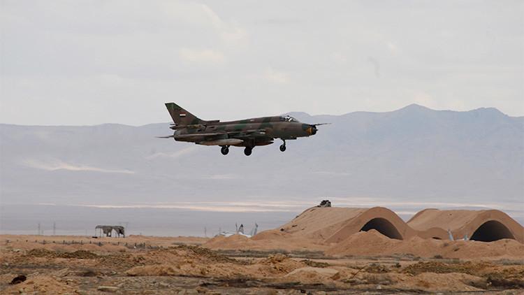 Se estrella en Hama un caza de la Fuerza Aérea Siria