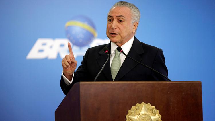 ¿Nueva Jugada?: Temer rehabilita a mandos militares retirados por Rousseff