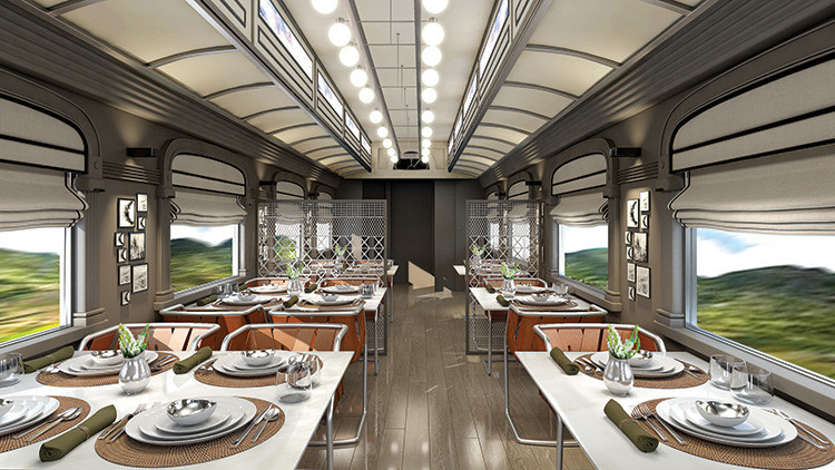 Así será el tren nocturno más lujoso de Sudamérica (Fotos)