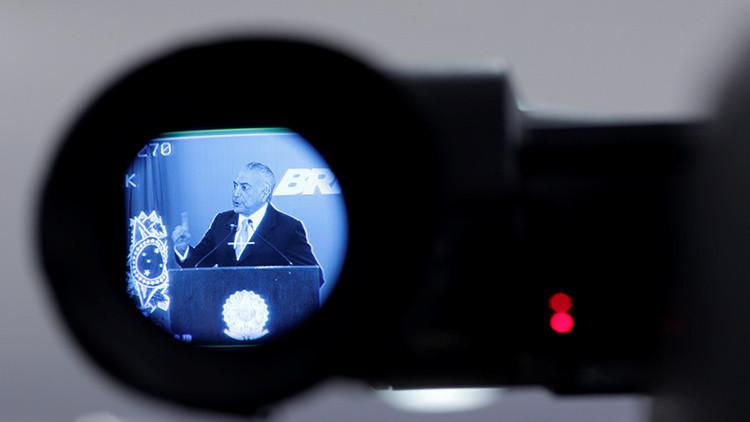 El gobierno de Michel Temer cerró la televisión pública estatal