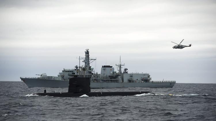 """""""En el mar, sobre el mar y bajo el mar"""": la OTAN inicia maniobras marítimas en Noruega"""