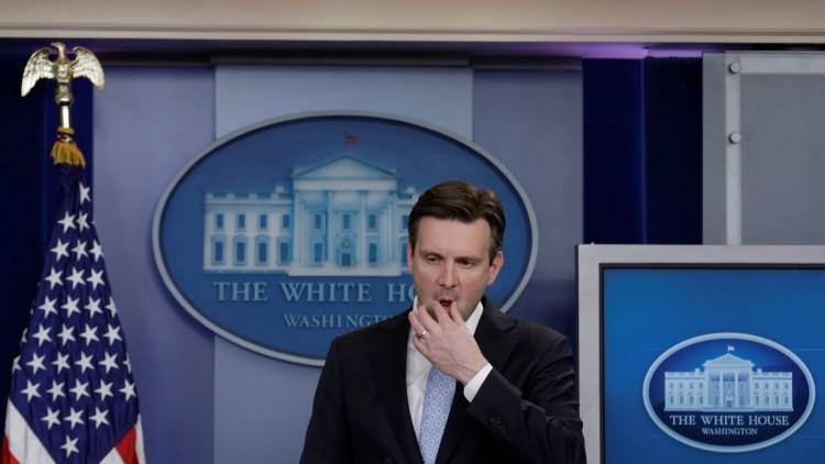 El portavoz de la Casa Blanca Josh Earnest