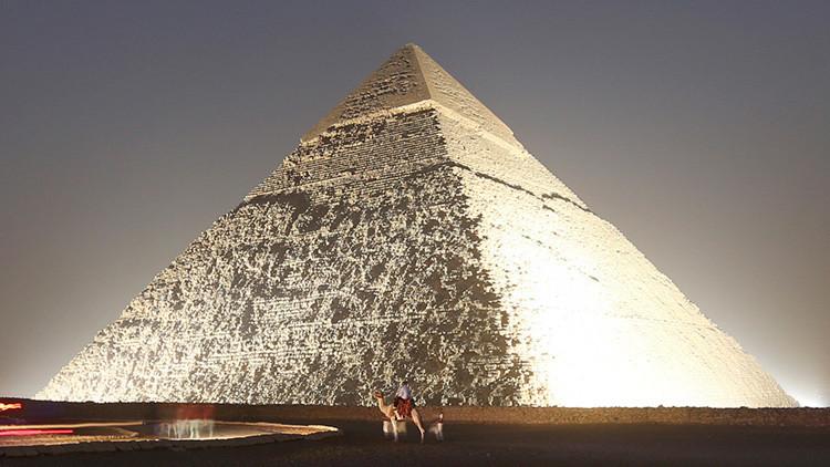 Científicos hallan un error en la construcción de la Gran Pirámide de Guiza