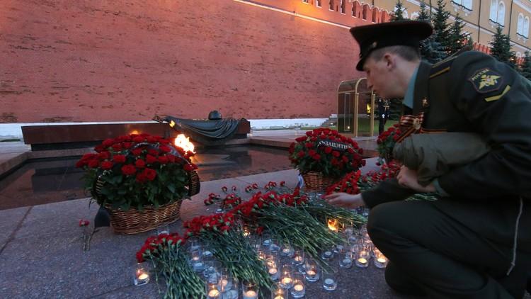 VIDEO: Moscú conmemora el aniversario de la Gran Guerra Patria encendiendo centenares de velas