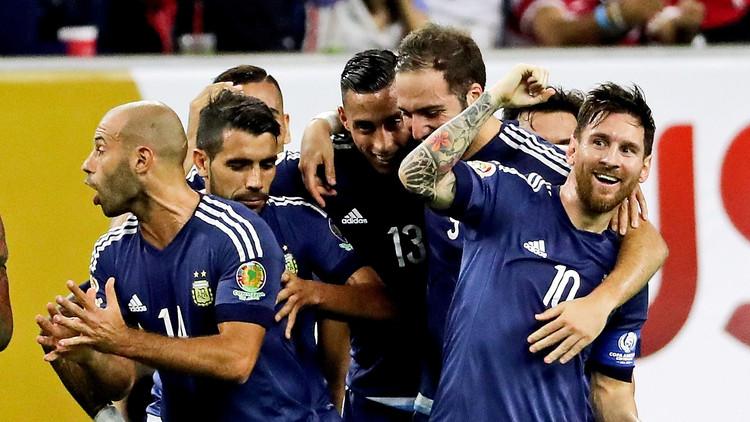Argentina, primer finalista de la Copa América tras aplastante victoria sobre EE.UU. 4-0