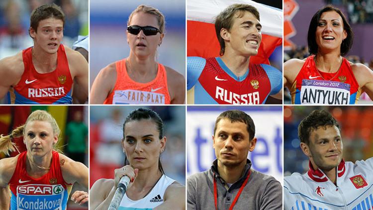 """Atletas rusos a RT: """"Vamos a entrenar y competir a pesar de la injusticia"""""""