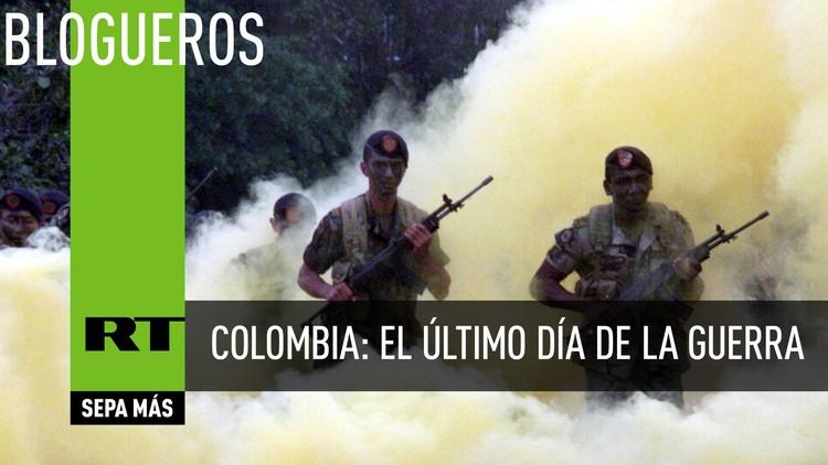 Colombia: el último día de la guerra