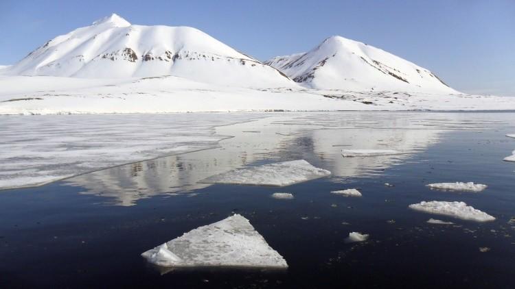 El desastroso efecto de la romántica nieve rosada del Ártico (FOTOS)