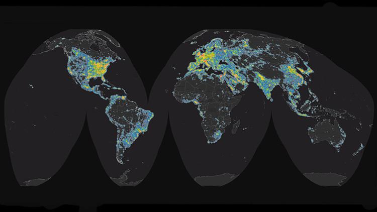 """""""Perdemos vistas al cosmos"""": Nuestra galaxia, oculta para más del 80% de la humanidad (mapa)"""