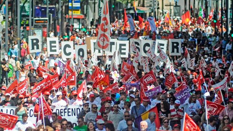 """Candidata española a RT: """"En la UE, hay unos que mandan y otros que obedecen"""""""