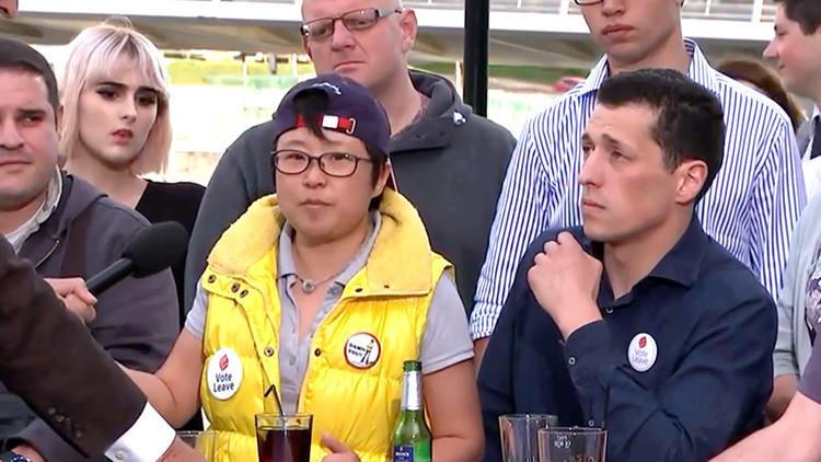 """Inmigrante china a favor del Brexit porque su """"empleado español siempre está dormido"""""""