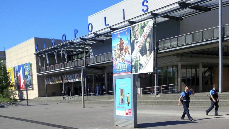 El agresor que abrió fuego en un cine de Alemania portaba un cinturón explosivo y una granada