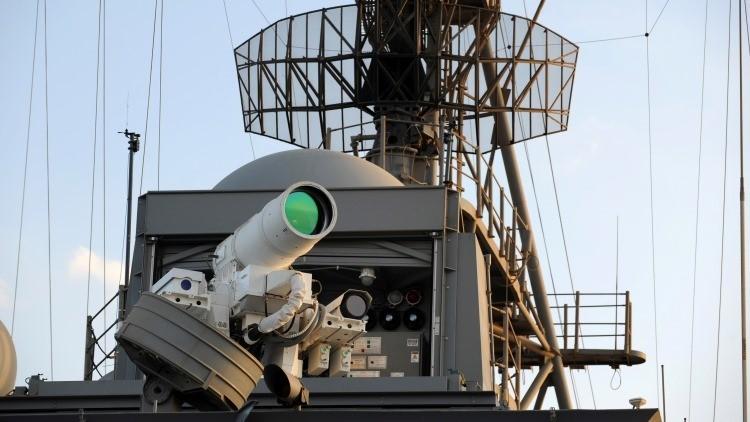 EE.UU. equipará sus buques con potentes láseres y microondas