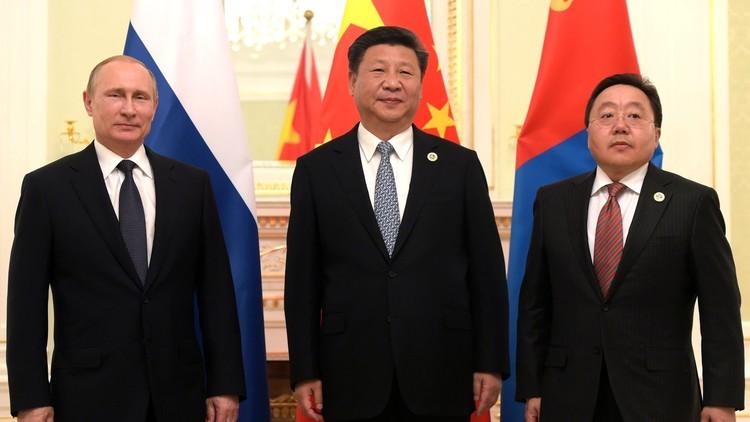 Rusia, China y Mongolia apuestan por un corredor económico común