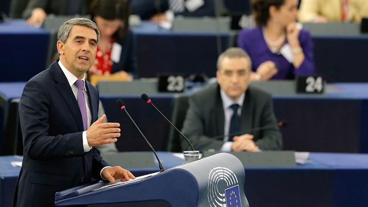 """Presidente de Bulgaria: """"El colapso de la UE conducirá a una guerra"""""""