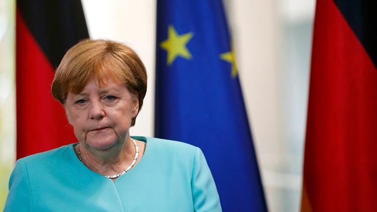 """Angela Merkel sobre el 'Brexit': """"Es un golpe contra Europa y la unidad europea"""""""
