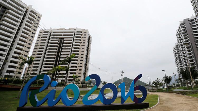 La prensa por fin conoce la Villa Olímpica de Río de Janeiro (video)