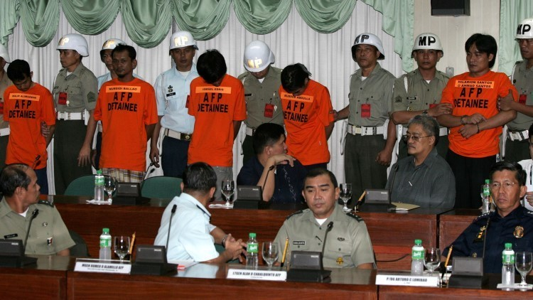 Juicio a varios militantes del grupo Abu Sayyaf en Filipinas