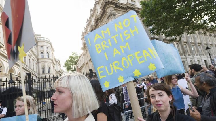 Los partidarios del 'Bremain' llaman a protestar frente al Parlamento