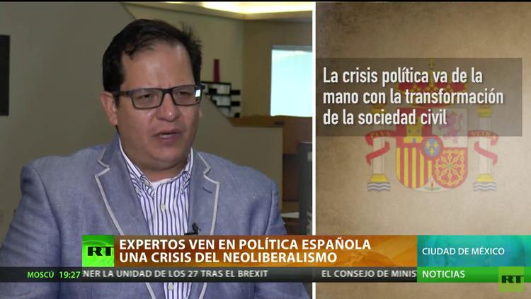 """Expertos ven en la política española """"una crisis del neoliberalismo"""""""