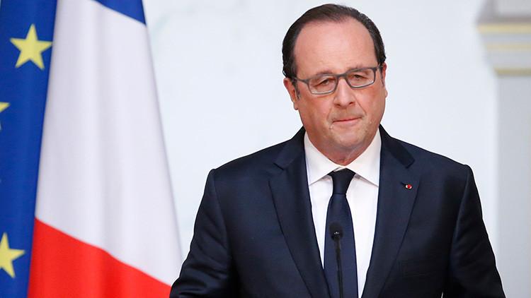"""Hollande: """"El 'Brexit' es un interrogante para todo el planeta"""""""