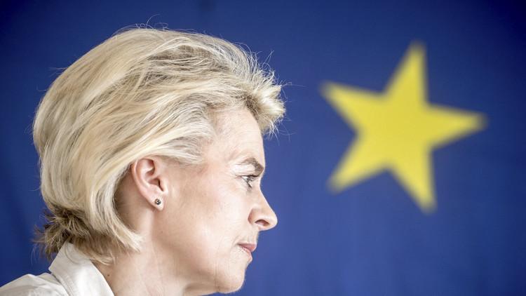 La ministra alemana de Defensa, Ursula von der Leyen
