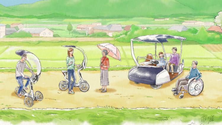 Estos vehículos japoneses podrían revolucionar la movilidad en las ciudades (Fotos)