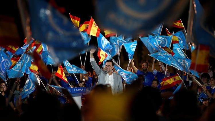 Sin cambios en España: el PP gana el 26-J con 33% sin mayoría absoluta, el PSOE es segundo con 22,7%