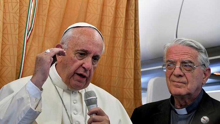 """Papa Francisco: """"La Iglesia debe pedir perdón a las personas gays"""""""