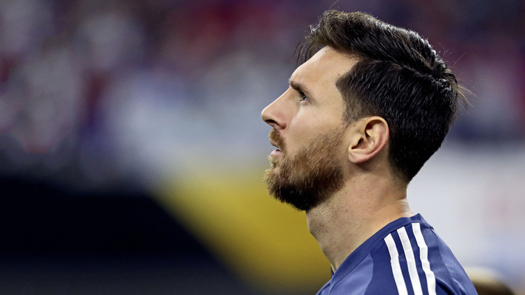 #NoTeVayasLio: Argentina le pide a Messi que siga en la Selección