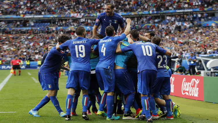 Italia elimina a España en la Euro 2016 al ganarle 2 a 0