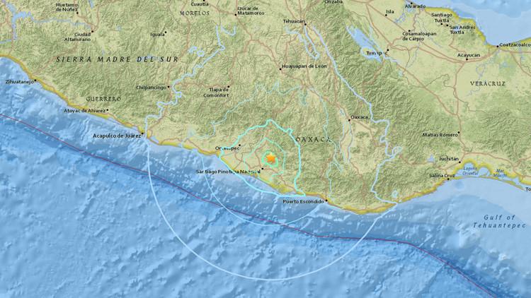 Un sismo de magnitud 5,7 sacude la Ciudad de México