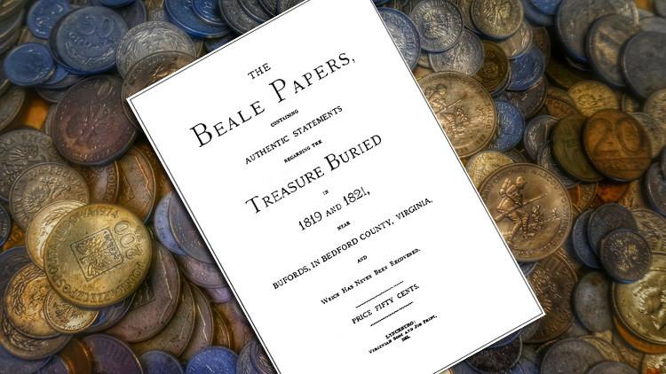 El texto cifrado que podría conducir a un gran tesoro escondido en EE.UU.
