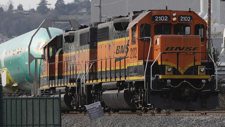 Fotos, Videos: Un choque frontal de dos trenes en Texas desata un gran incendio
