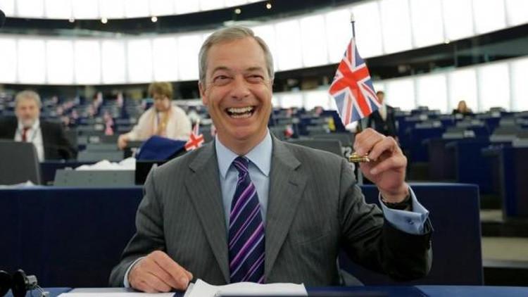 """Líder antieuropeísta británico: """"No tener un pacto comercial con Europa es mejor que lo que tenemos"""""""