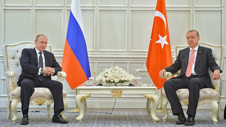 Putin ordenará al Gobierno empezar a negociar con Turquía tras su conversación con Erdogan